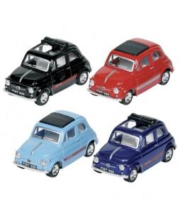 Goki automobilių modeliukai Fiat 500 1/48