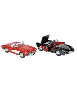 Goki automobilių modeliukai Chevrolet Corvette (1957) 1/24