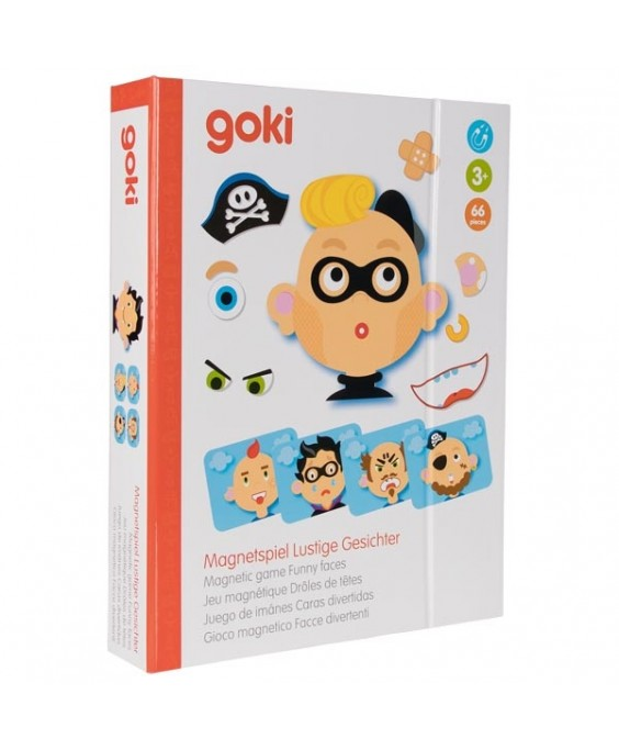 Goki magnetinis žaidimas Berniuko nuotaikos