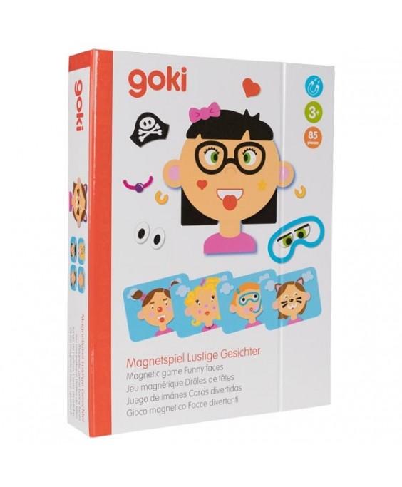 Goki magnetinis žaidimas Mergaitės nuotaikos