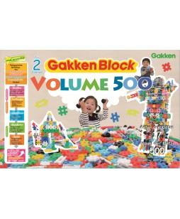 Konstruktorius Gokken blokai, 500 vnt