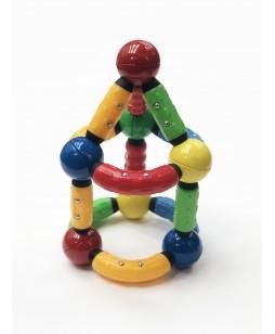 Konstruktorius magnetinės lazdelės, 52 vnt