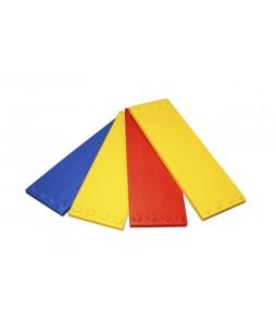 ESDA spalvotų plokščių rinkinys, 4 vnt