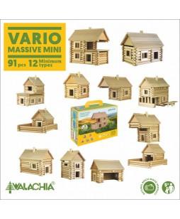Walachia medinis konstruktorius  Vario lagaminėlis 91 vnt