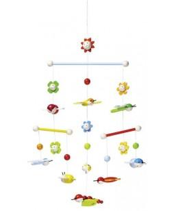 Goki pakabinamas žaislas - dekoracija Vabaliukų pieva