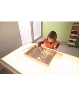 Piešimo lenta, akrilinis pagrindas