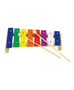 Goki muzikos instrumentas vaikams Metalofonas