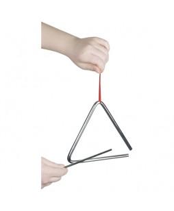Goki muzikos instrumentas vaikams Trikampis, 16 cm