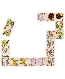 Goki žaidimas domino Gyvūnai