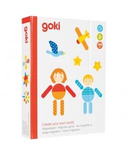 Goki magnetinis žaidimas Sukurk savo pasaulį