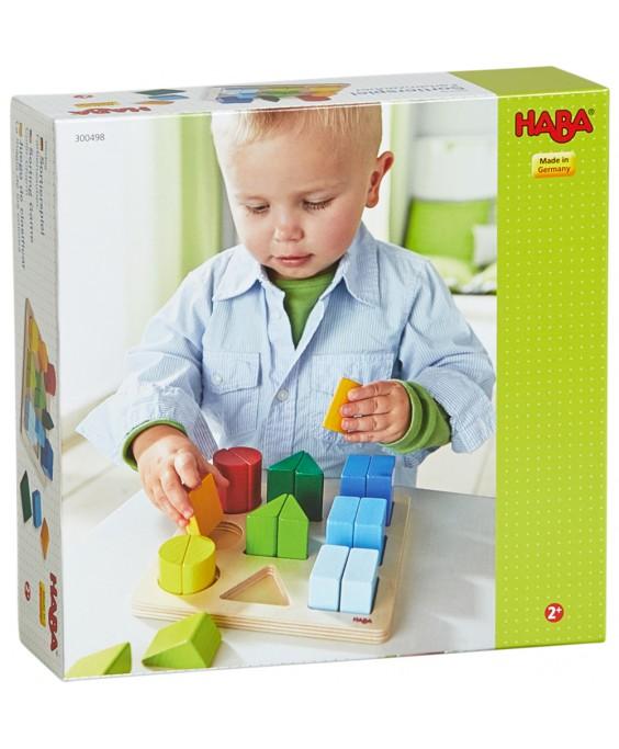 Haba lavinamasis žaislas Spalvų rūšiavimas