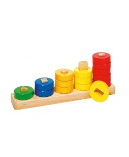 Goki lavinamasis žaidimas Spalvų ir formų rūšiuoklė
