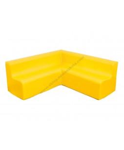 Didelė kampinė sofa