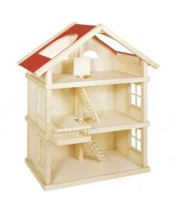 Goki lėlių trijų aukštų namas
