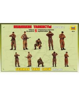 Zvezda Ger. Tank Crew WWII Late (1943-1945) 1/35