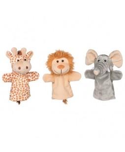 Goki lėlių - pirštinių rinkinys Laukiniai gyvūnai