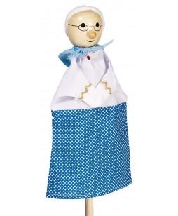 Goki lėlė-pirštinė Močiutė