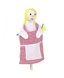 Goki lėlė-pirštinė Mergaitė