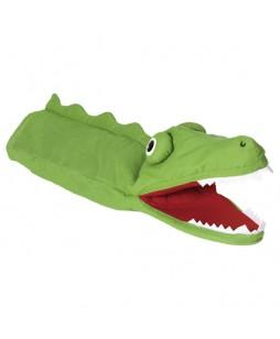 Goki lėlė-pirštinė Krokodilas