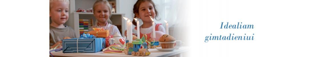 Vaikų gimtadieniams ir šventėms