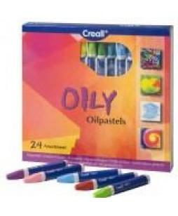 Creall Oily aliejinės pastelės (24 spalvos)